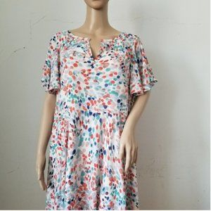 Anthropologie Maeve Large Dress